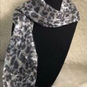 Coach snakeskin scarf NWT